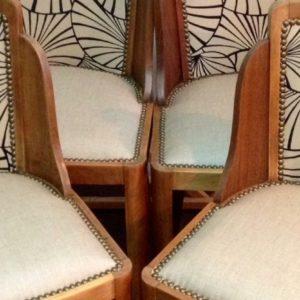 Restauration chaise art déco Bordeaux