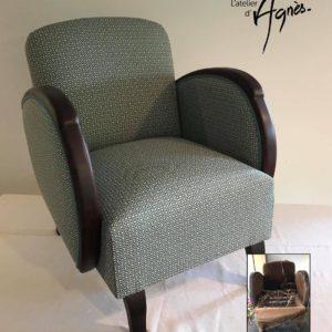 Restauration fauteuils Art Déco Bordeaux