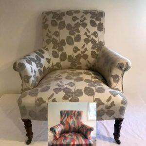 Restauration fauteuil anglais bordeaux Bordeaux